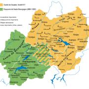 Souabe et Haute-Bourgogne