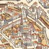 Abbaye Sainte Geneviève en 1550
