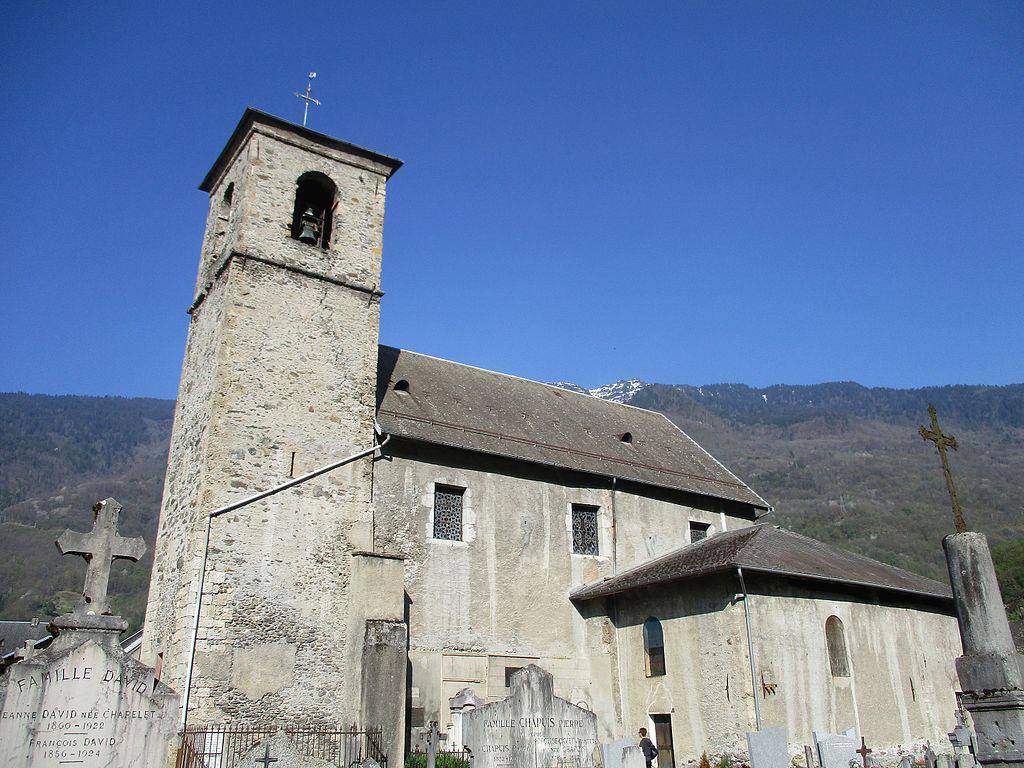 Aiguebelle (Savoie) L'église Saint-Christophe