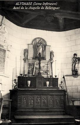 Alvimare (Seine-Maritime) Chapelle des Blanques CPA