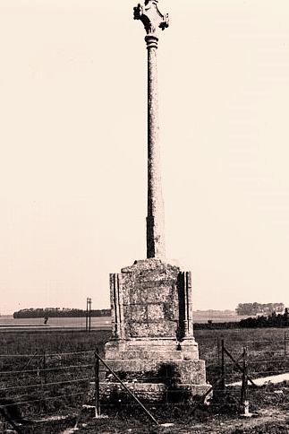 Alvimare (Seine-Maritime) Croix des Blanques CPA