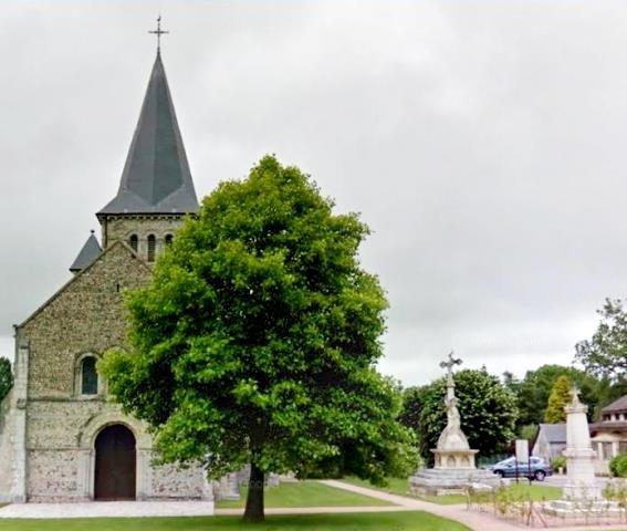 Alvimare (Seine Maritime) Eglise et monument aux morts