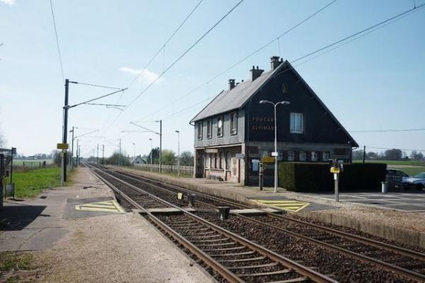 Alvimare (Seine Maritime) Gare de Foucart-Alvimare