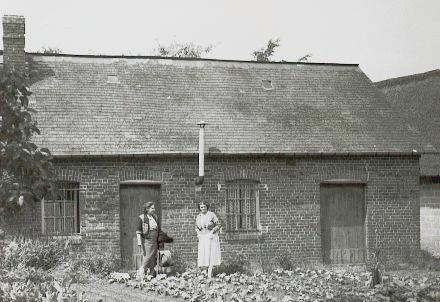 Ancourteville, la maison de campagne en 1949 de Madeleine et Auguste Gransard