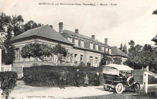 Anvéville (Seine-Maritime) Mairie et école CPA