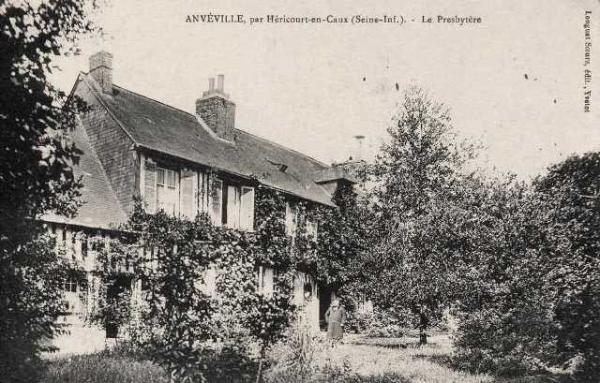 Anvéville (Seine-Maritime) Presbytère CPA