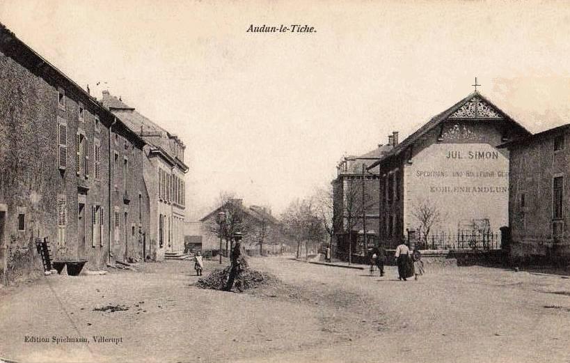 Audun-le-Tiche (Moselle) CPA