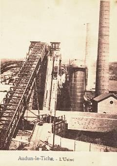 Audun-le-Tiche (Moselle) L'usine CPA