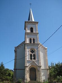 Audun-le-Tiche (Moselle) Le Temple