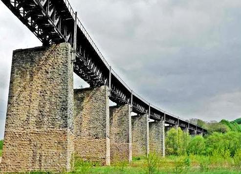 Audun-le-Tiche (Moselle) Le viaduc