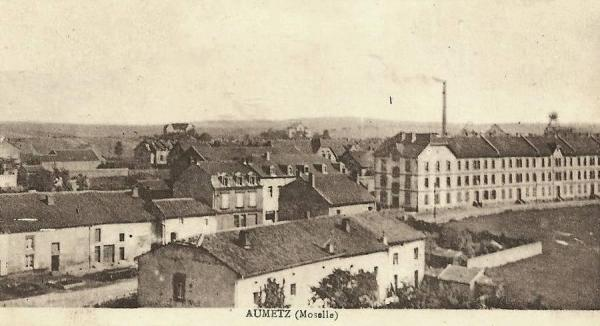 Aumetz (Moselle) CPA