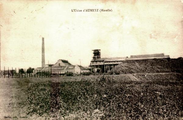 Aumetz (Moselle) L'usine CPA