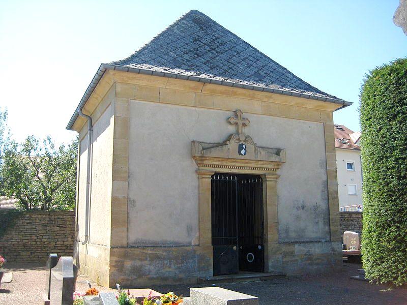 Aumetz (Moselle) La chapelle du cimetière