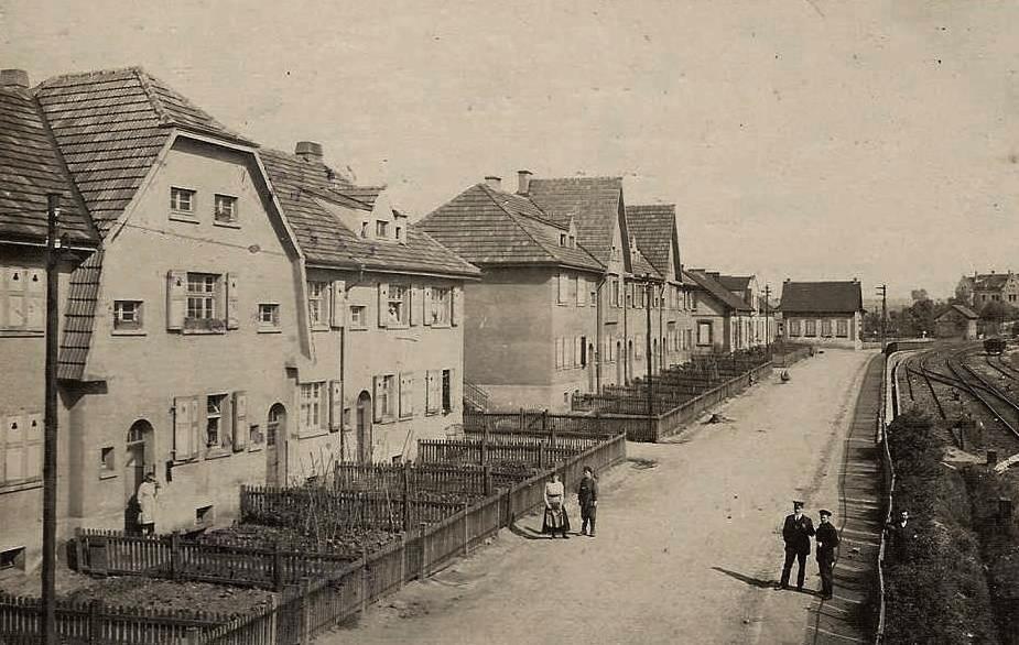Aumetz (Moselle) La cité ouvrière CPA