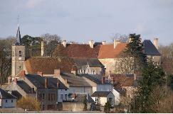 Aunay-en-Bazois (Nièvre) Le village
