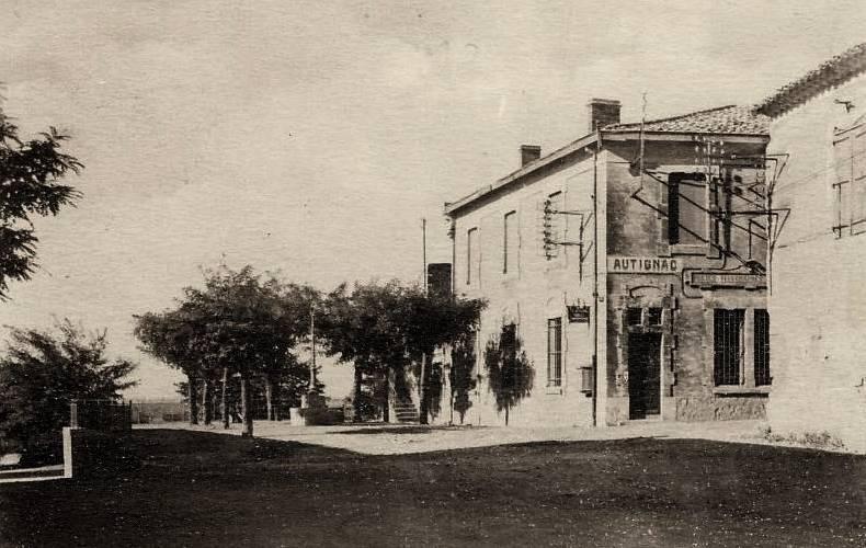 Autignac (Hérault) CPA La Poste