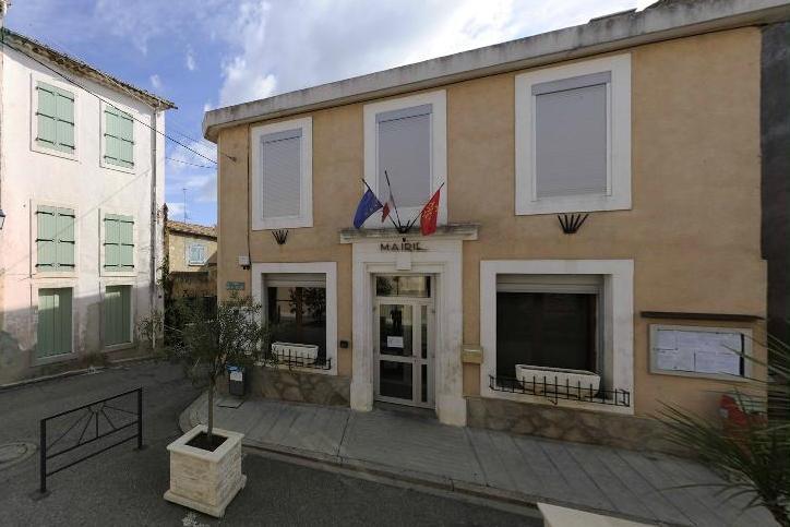Autignac (Hérault) La mairie