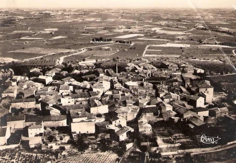 Autignac (Hérault) Vue aérienne