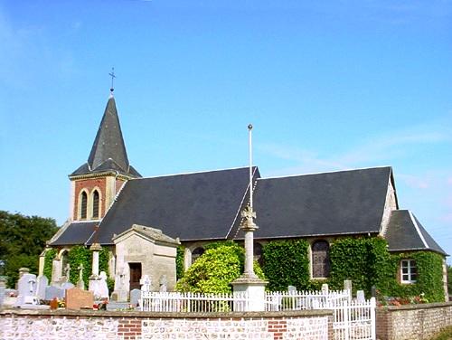 Autigny (Seine Maritime) Eglise Saint Martin