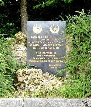 Autréville-Saint-Lambert (meuse) La stèle