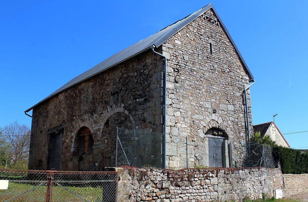 Autun (Saône-et-Loire) L'église Saint Pierre l'Estrier