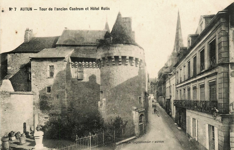 Autun (Saône-et-Loire) L'Hôtel Rolin CPA