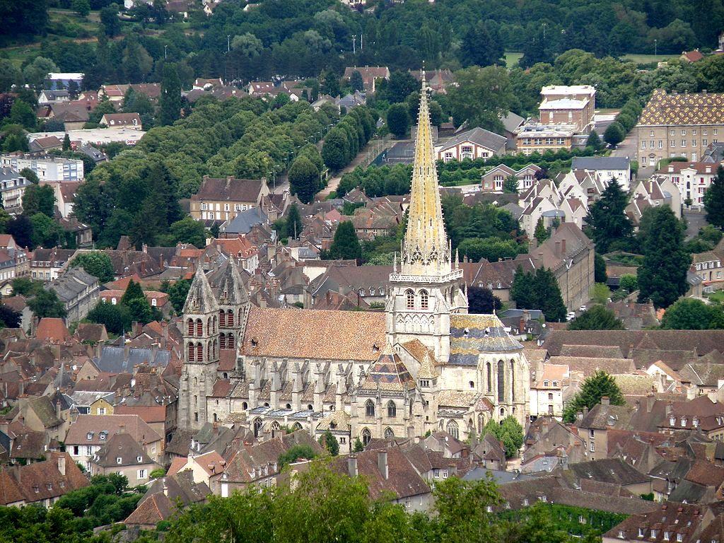 Autun (Saône-et-Loire) La cathédrale Saint Lazare