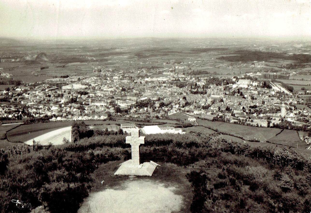 Autun (Saône-et-Loire) Vue générale CPA