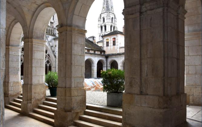 Auxerre (89) L'Abbaye Saint-Germain