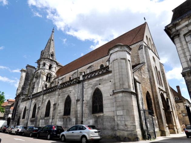 Auxerre (89) L'église Saint-Eusèbe