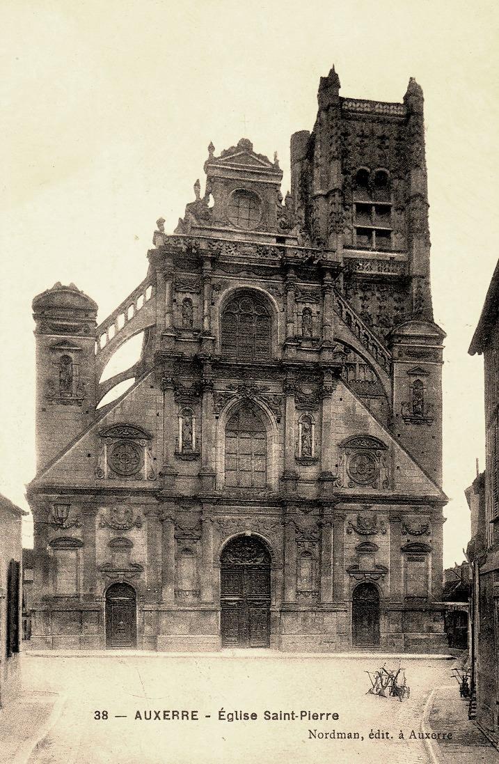 Auxerre (89) L'église Saint-Pierre CPA
