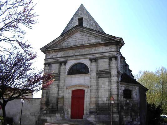 Auxerre (89) La Chapelle Sainte-Marie