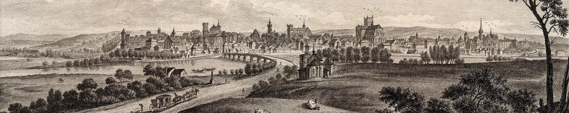 Auxerre (89) Panoramique CPA