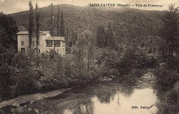 Avène (Hérault) La villa du Printemps CPA