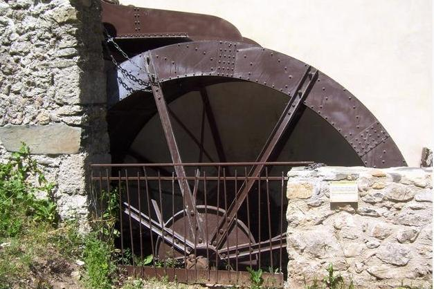 Avène (Hérault) Le moulin de la Salesses