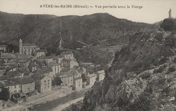 Avène (Hérault) Vue Générale CPA