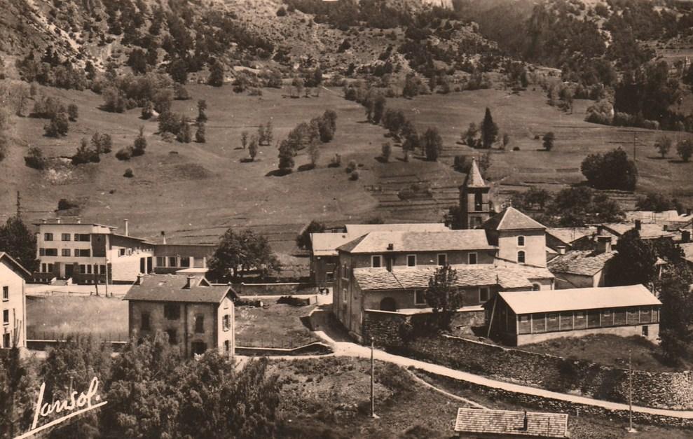 Avrieux (Savoie) Le village CPA