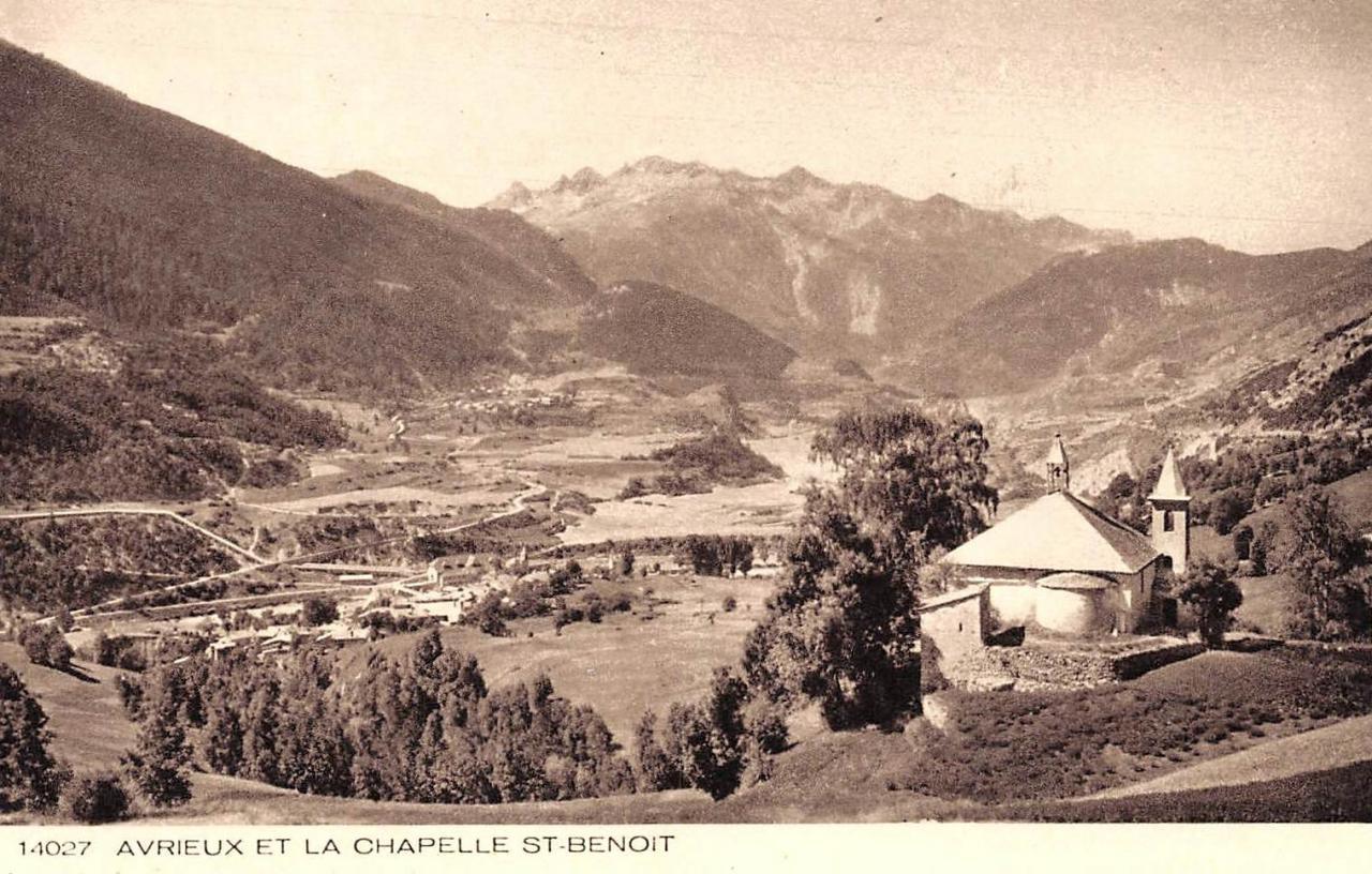 Avrieux (Savoie) La chapelle Saint-Benoît CPA