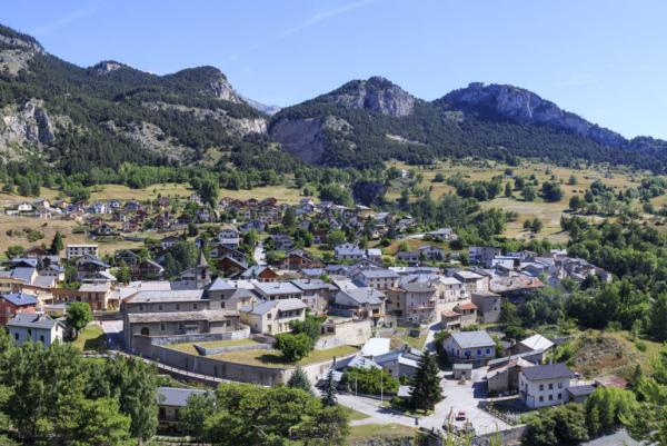 Avrieux (Savoie) Le village