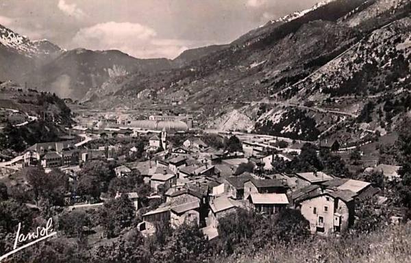 Avrieux (Savoie) Vue générale CPA