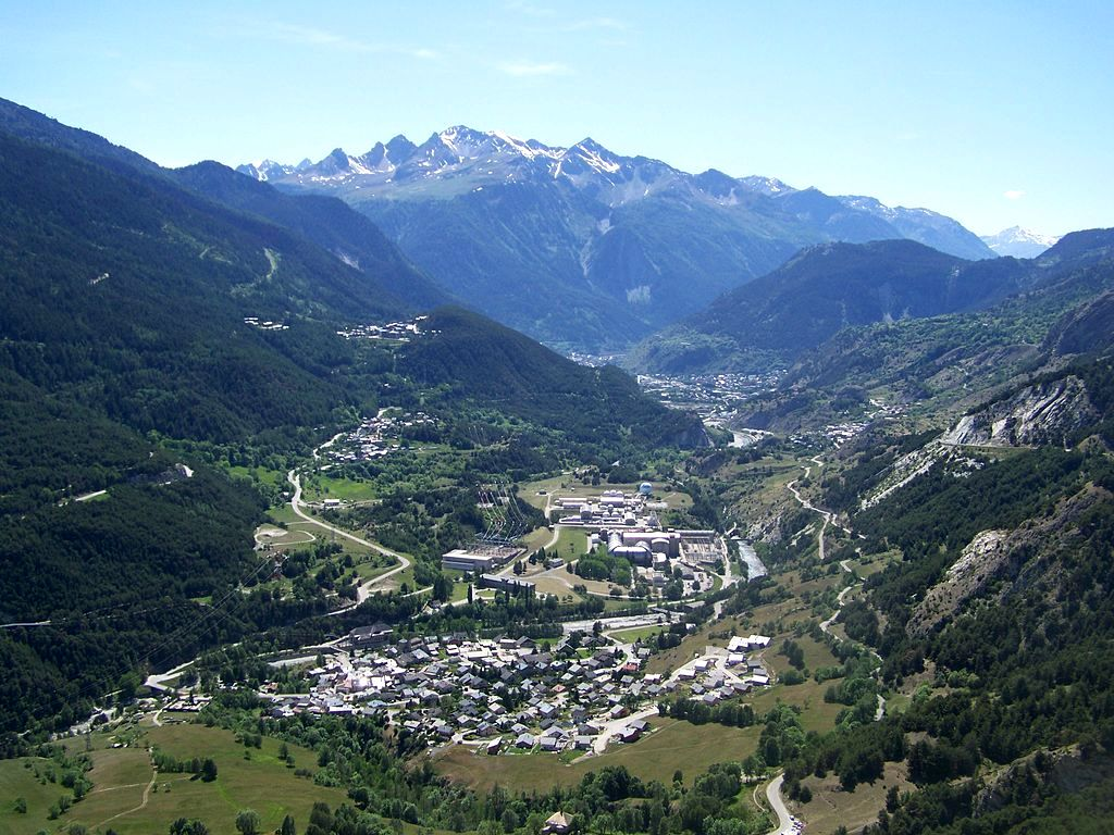 Avrieux (Savoie) Vue générale