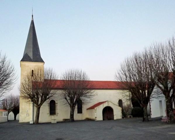 Barbâtre (Vendée) Eglise Saint Nicolas