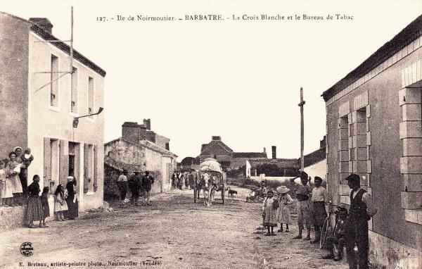 Barbâtre (Vendée) La Croix Blanche CPA