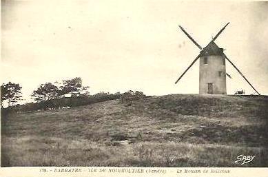 Barbâtre (Vendée) Moulin vieux de Bellevue CPA