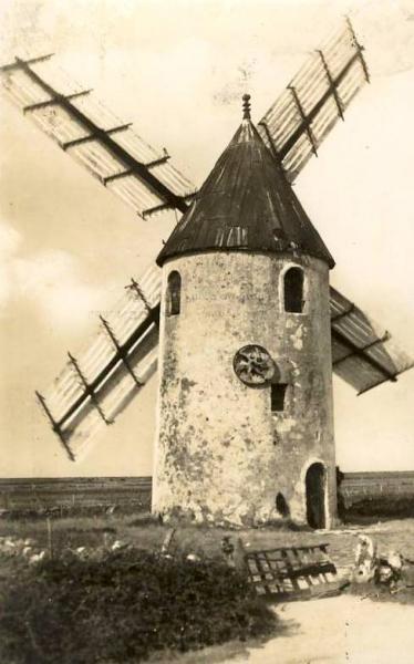 Barbâtre (Vendée) Moulin vieux de la Plaine CPA