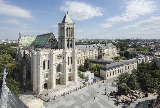 La basilique Saint-Denis en 2015