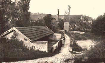 Baulne-en-Brie (Aisne) CPA La passerelle