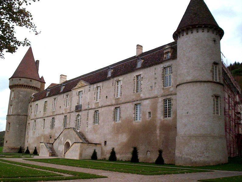 Bazoches (Nièvre) Le château