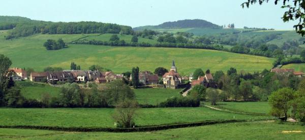 Bazoches (Nièvre) Vue générale