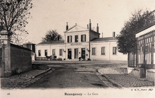 Beaugency (45) Gare CPA
